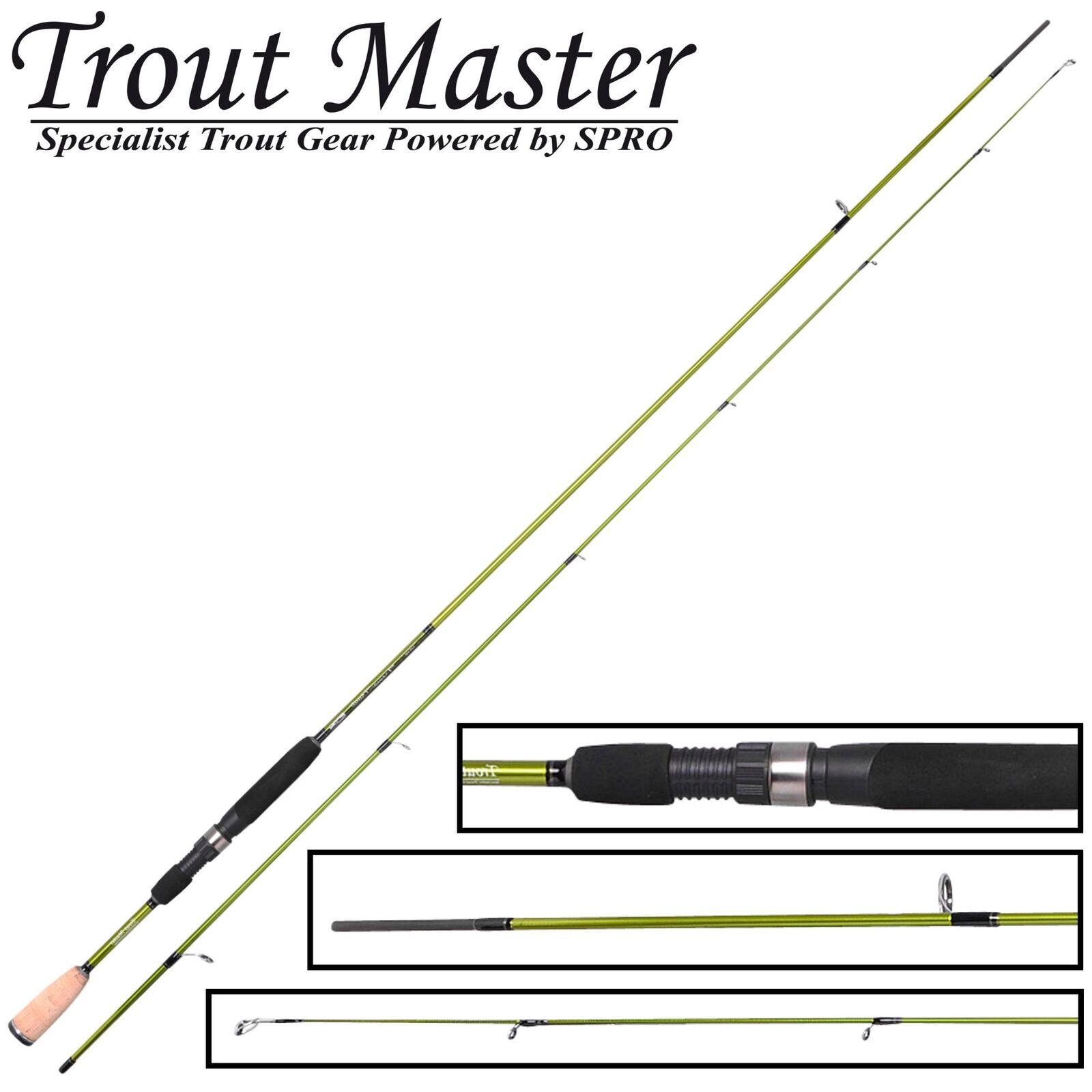 Trout Master Trema Trout UL 2,40m 2-8g - Forellenrute, Ultra Light Rute