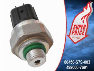 A/C AIR CONDITIONER PRESSURE TRANSDUCER SWITCH SENSOR HONDA 499000-7691 **NEW**
