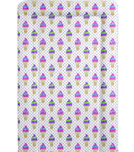 Ice Cream Cone design baby changing mat ideal baby shower gift FOF