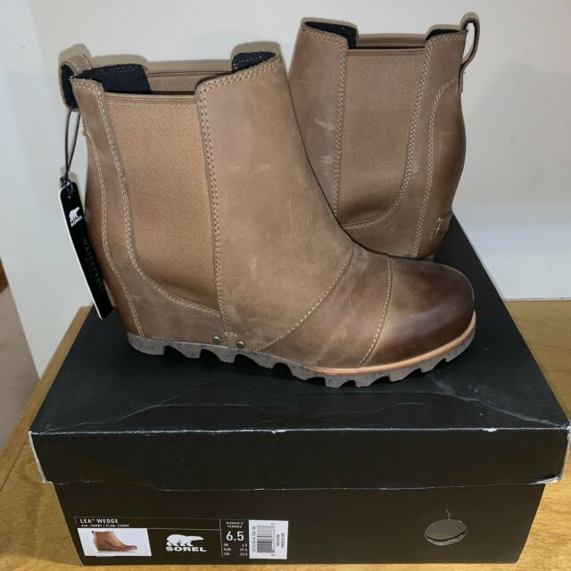0406bfb3edb Sorel Lea Wedge Elk Curry 7 Joan Arctic Ankle Boot for sale online ...