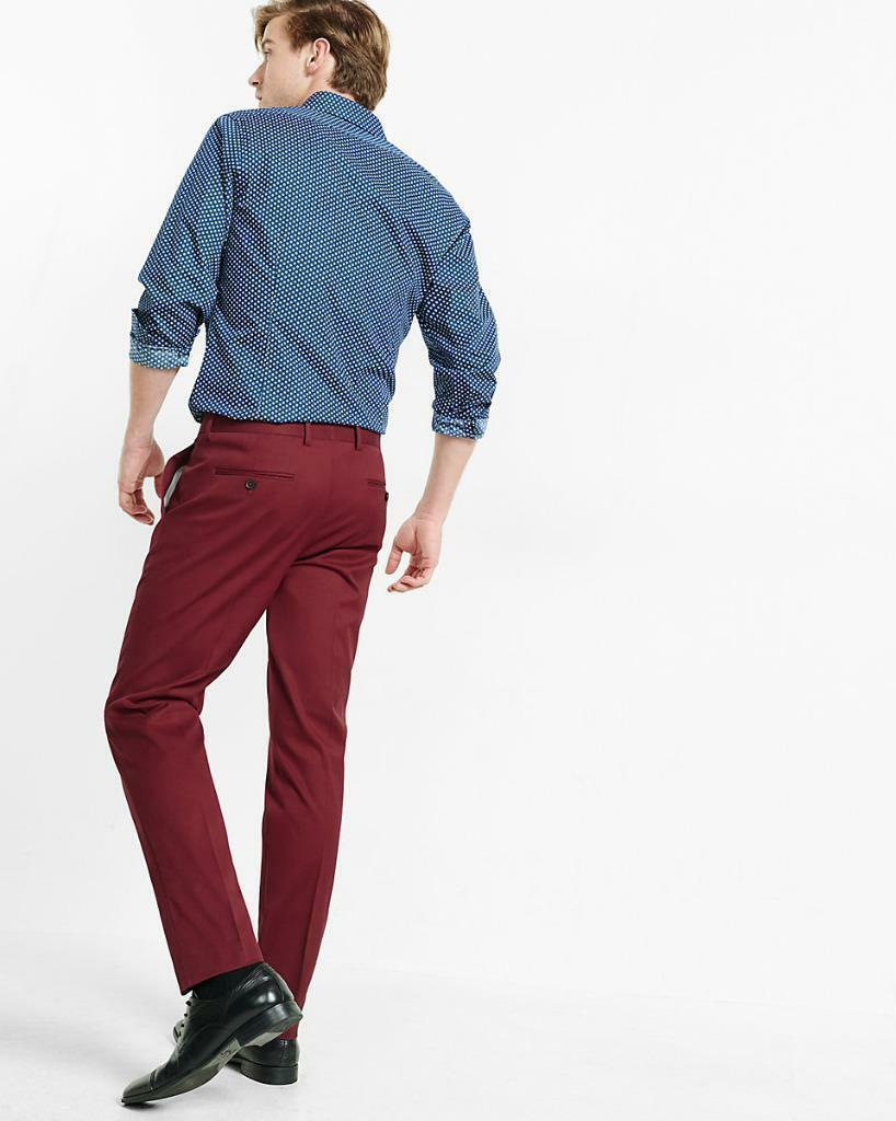NTW Express Skinny Fit Innovator Stretched Cotton Pants 30x31 31x30 36x32