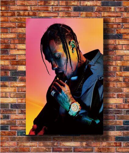 24x36in Poster Hot Gift C3155 Art Travis Scott Hip Hop Rap Music Singer Star