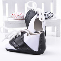 White&Black Lace Up Sneakers Sport Shoes For 18inch Girl Gotz Dolls New