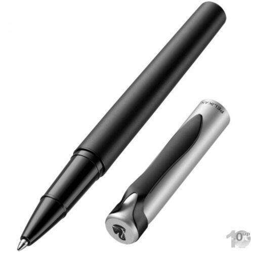 Pelikan Tintenroller stola II schwarz//silber