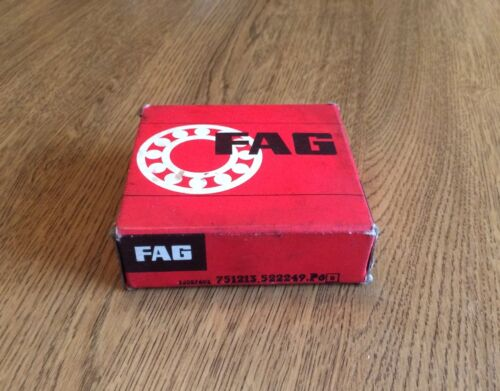 FAG 751213 522249 P6 ANGULAR CONTACT THRUST BALL BEARING 65x100x27