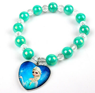 Wholesale Frozen Jewelry Elsa  Bracelets 5pcs For Birth Day Gift
