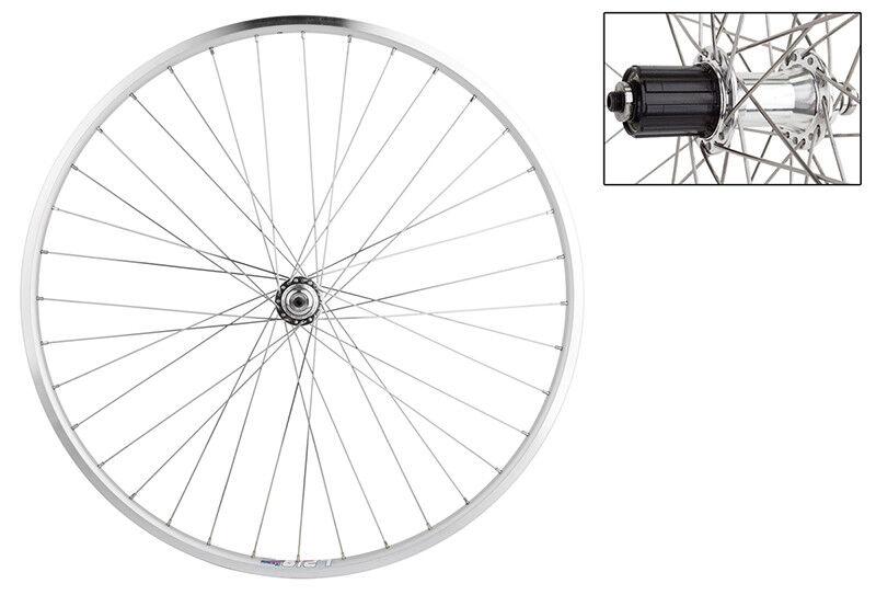 WM Wheel Trasero 700 622x14 Wei Lp18 Sl 36 Acero 8-10scas Sl Qr 130mm Dti2.0sl