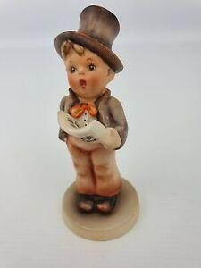 Street-Singer-Boy-Hummel-Goebel-Number-131-Figurine-TMK-2-Circle-Bee-5-25-034