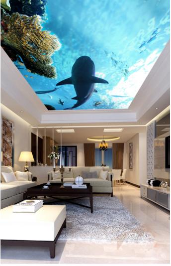 3D Dolphin Koralle 74 Fototapeten Wandbild Fototapete BildTapete Familie DE Kyra