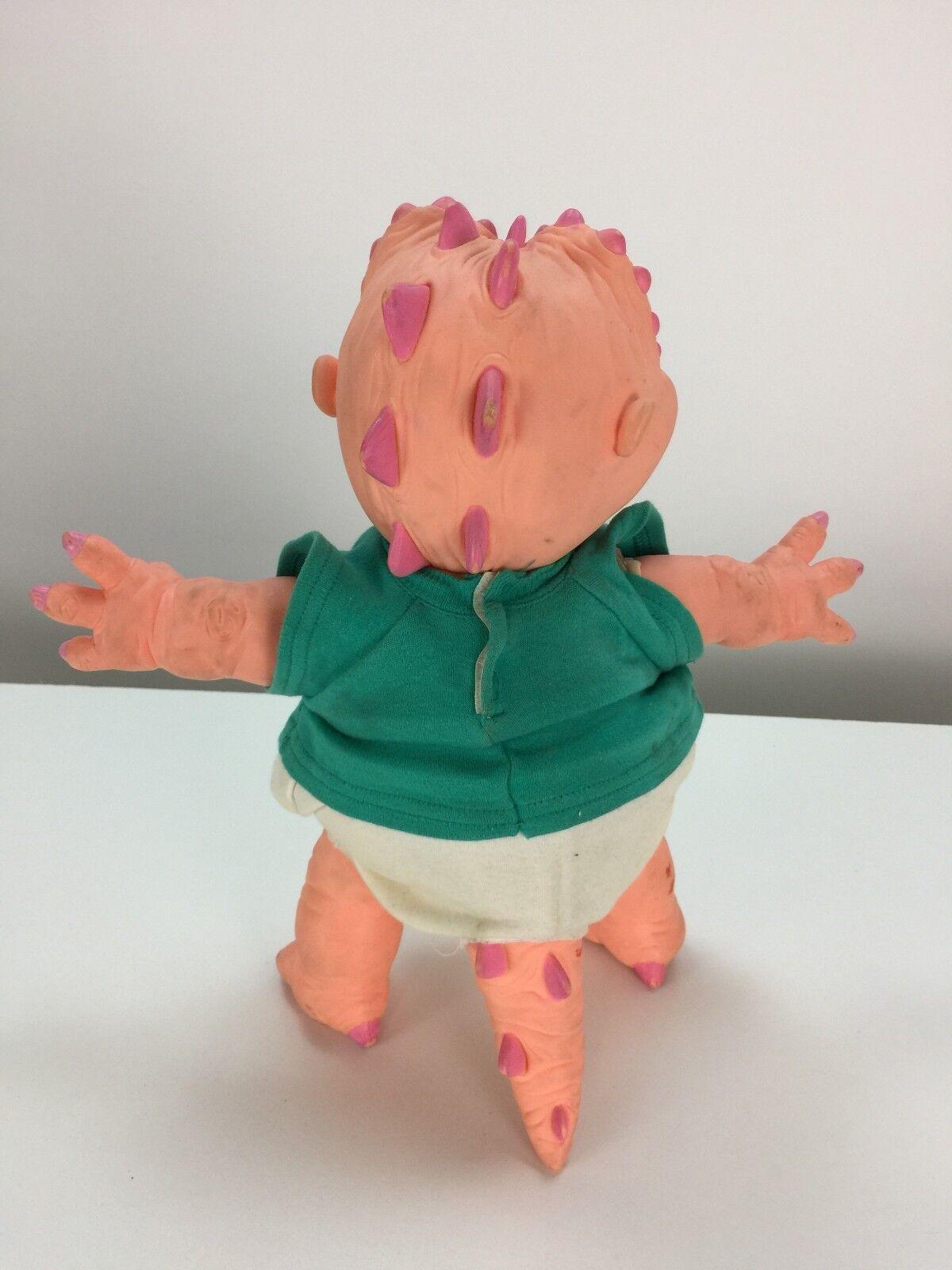 Baby Sinclair Dinosaurs Toy Doll Doll Doll 14  Plastic Plush VTG 90s TV Show Street Kids 1f78a6