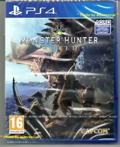 Monster-Hunter-World-Exclusive-HORIZON-ZERO-DAWN-content-039-New-amp-Sealed-039-PS4