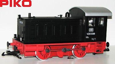 "Apprensivo Piko G Locomotiva Diesel Br V20 038 Der Db "" Sound "" - Nuovo"