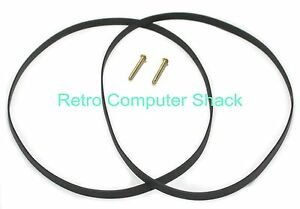 Sinclair Spectrum +3 Floppy Disk Drive Belt x2 + 2x Write Protect Pins