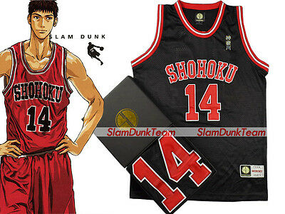 SLAM DUNK Cosplay Costume Shohoku School Basketball #14 Mitsui Swingman Jersey B
