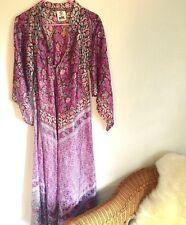 Vintage Deadstock Indian Gauze Caftan Dress Like Spell Gypsy Spell Designs Boho