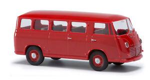 Busch-94101-3K-GOLIATH-Express-1100-Estate-Red-Model-1-87-H0