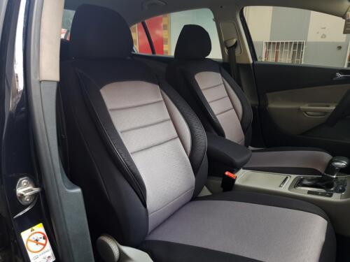 Sitzbezüge Schonbezüge für Mazda CX-3 schwarz-grau V759054 Vordersitze