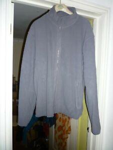 Pro RTX Light Grey Zipped Fleece Jacket XXL