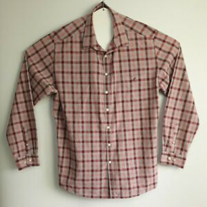 Rodd-amp-Gunn-R-amp-G-Men-039-s-Italian-Fabric-Long-Sleeve-Check-Shirt-Size-XXL