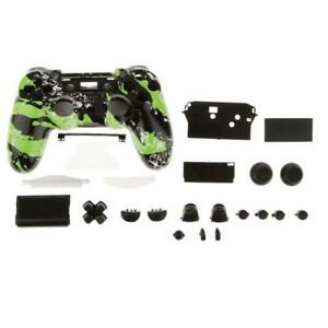 Details about Housing Shell Case Mod Splatter Green Full Kit fr PS4  Controller DualShock 4