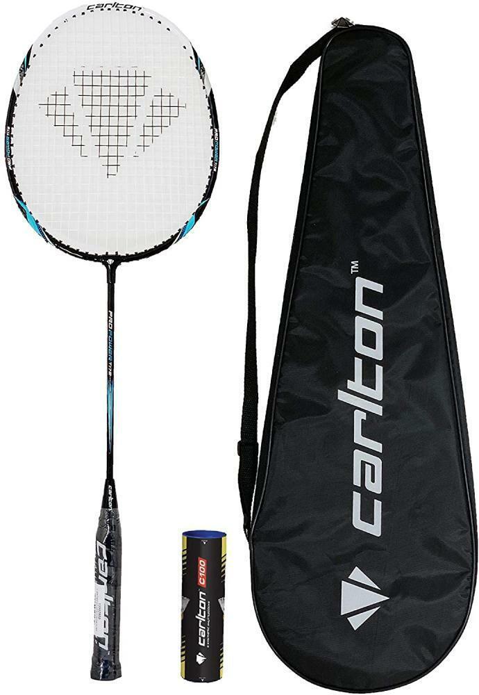 6 Carlton Shuttles RRP £260 Browning Nanotec CTi 75 Badminton Racket