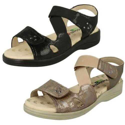 Damen Padders Klettverschluss Sandale Kreuzfahrt