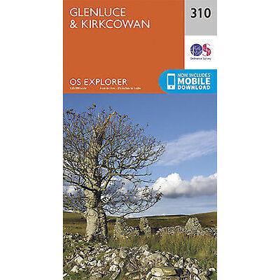 Glenluce and Kirkcowan Explorer Map 310 Ordnance Survey