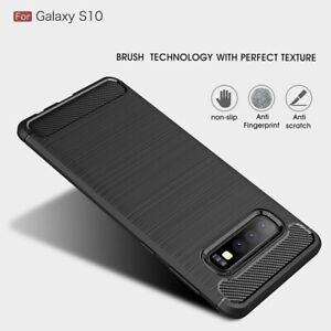 Case-Cover-For-Samsung-Galaxy-S10-Slim-Tough-Bumper-Rugged-Armor-Matte-Black