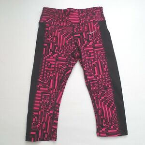 686034 Nwt Lux Size Printed Epic Pant Crop Xs Women 616 Pink 882801145674 Nike Tight 47qx0Kw