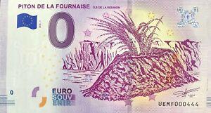 100% De Qualité Billet 0 Zero Piton De La Fournaise La Reunion 2018 Numero 444 MatéRiaux De Choix