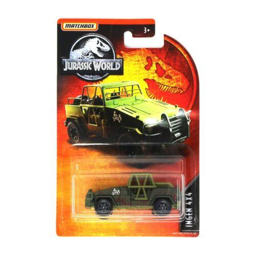 Matchbox Jurassic World Ingen 4x4 Modellino Fuoristrada Die-Cast