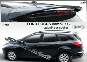 spoiler rear roof ford focus 3 iii mk3 combi turnier avant. Black Bedroom Furniture Sets. Home Design Ideas