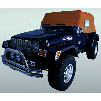 Rampage 1161 Cab Cover Fits 92-06 TJ Wrangler
