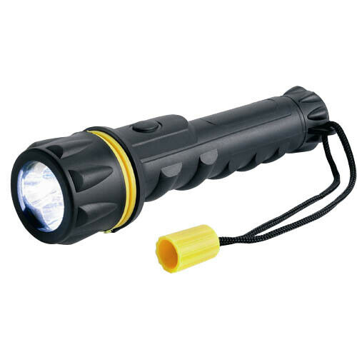 RT5148 ring 3 DEL Heavy Duty Caoutchouc Torche Torches 13 LM Shockproof Torch