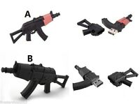 Assault Rifle AK-47 USB 2.0 Memory Stick Flash pen Drive 8GB 16GB 32GB 64GB BP85
