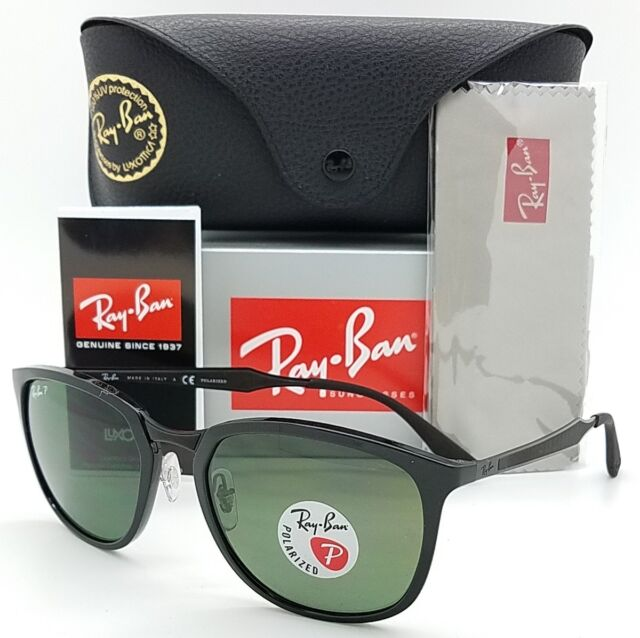 77bebf89bd Sunglasses Ray-Ban Rb4299 601 9a 56 Black Green Polarized for sale ...