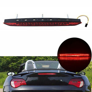 Car Trunk Tailgate Red 3rd Third Brake Light Tail Lamp For BMW Z4 E85 2003-2008