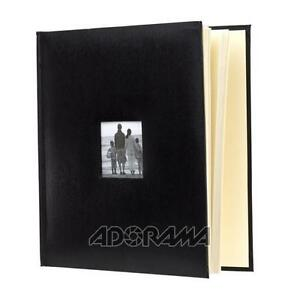 Flashpoint-Photo-Album-Leatherette-Holds-500-4x6-Black-638280