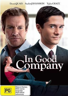 In Good Company DVD Dennis Quaid Scarlett Johansson Topher Grace SEALED R4*