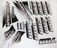 Polaris Sportsman 335 400 500 600 700 Body Fenders Stickers Decals Graphics Kit