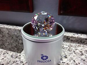 PRECIOSA CRYSTAL!! LARGE BRILLIANT SHAPED CRYSTAL! NEW!