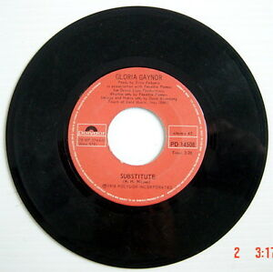 ONE-1978-039-S-45-R-P-M-RECORD-GLORIA-GAYNOR-I-WILL-SURVIVE-SUBSTITUTE