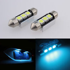 Ice Blue Error Free Number License Plate LED SMD Light Bulbs For Audi B5 A4 S4