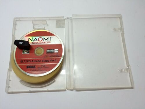 SEGA NAOMI Initial D Arcade Stage Ver 3   ROM AND DONGLE  WORKS