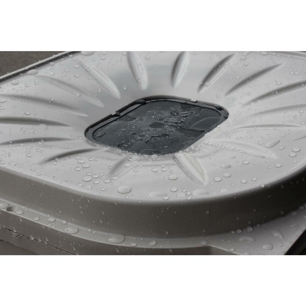 Rain Barrel Rainwater Collection 55 Gallon Mosquito Proof Brass Spigot Plastic