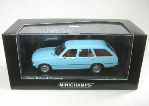kristallblau 1975 Opel Rekord D Caravan