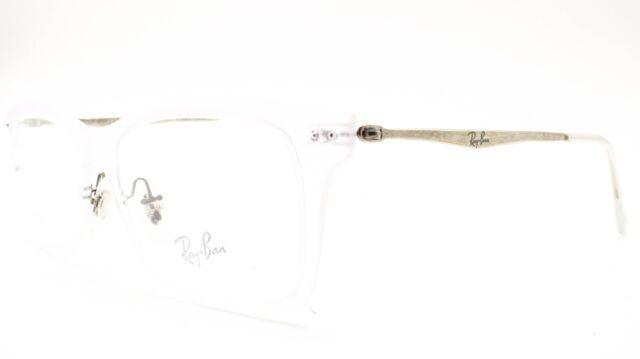 clear frame ray ban eyeglasses