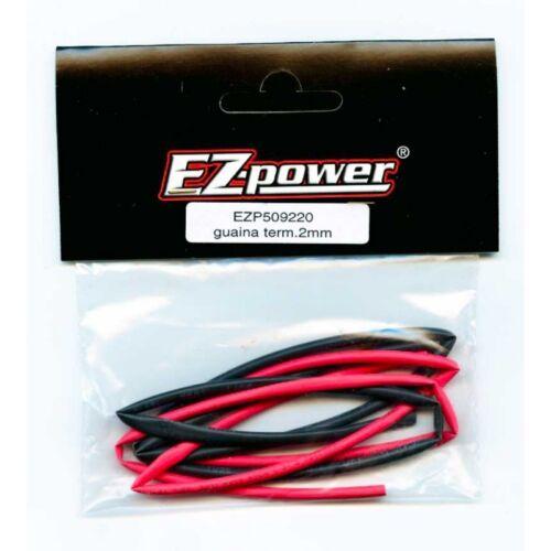 EZP509220 Guaina Termoretraibile 2mm Black Red Ez Power