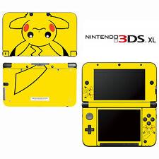 Vinyl Skin Decal Cover for Nintendo 3DS XL LL - Pokemon Pikachu 2