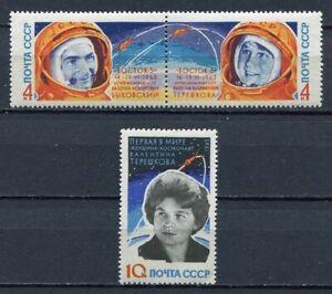 28698-RUSSIA-1963-MNH-Nuovi-Space-flights-3v